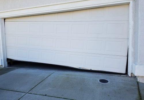 after garage door