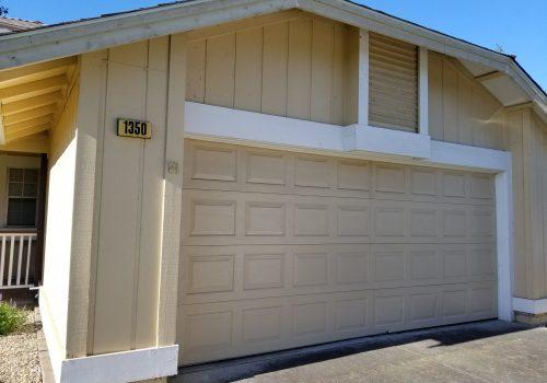 before garage doors